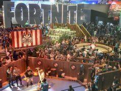 """Gamescom Award 2018: Die Fachjury hat den """"Fortnite""""-Auftritt (Halle 8) zum besten Messestand gewählt - Foto: KoelnMesse / Thomas Klerx"""