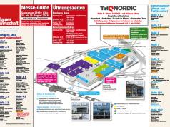 Der praktische Gamescom-Hallenplan 2018 zum kostenlosen Download - einfach ausdrucken und mitnehmen (Link zum PDF im Artikel!)