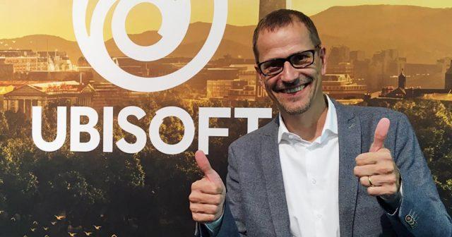 Gamescom-Gespräch mit Ralf Wirsing, Geschäftsführer der Ubisoft GmbH (Foto: GamesWirtschaft)