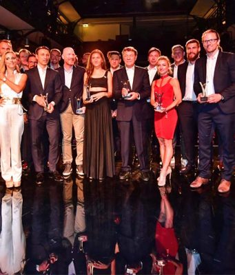 Die Preisträger des Sport Bild Award 2018 (Foto: Martin Brinckmann / Axel Springer AG)