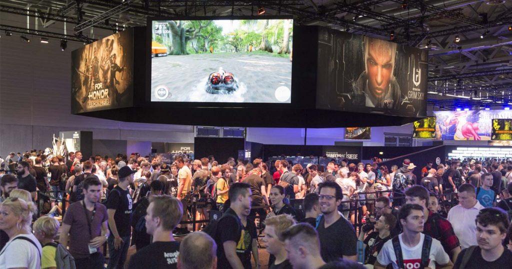 """Neben Neuheiten zeigte Ubisoft auf der Gamescom 2018 auch Erweiterungen für Spiele wie """"For Honor"""" (Foto: KoelnMesse / Harald Fleissner)"""