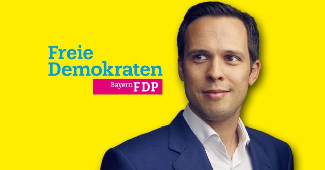 Das Gesicht der bayerischen Liberalen im Landtagswahlkampf: Spitzenkandidat Martin Hagen (Foto: FDP Bayern)