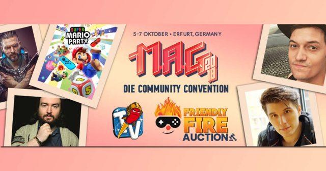 Nintendo hat die Teilnahme an der MAG Erfurt 2018 bestätigt (Abbildung: Super Crowd Entertainment)