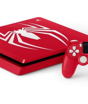 Gaming Tiefpreiswoche bei Media Markt: Die PS4 im Spider-Man-Design ist für 399 Euro zu haben - solange Vorrat reicht (Abbildung: Sony Interactive)