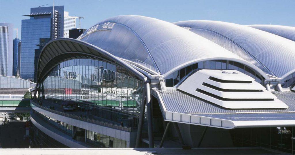 Die Halle 3 mit ihrer spektakulären Architektur gehört zu den Aushängeschildern des Frankfurter Messegeländes (Foto: Messe Frankfurt GmbH)
