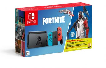 Ab 5. Oktober erhältlich: das Nintendo Switch Fortnite Bundle (Abbildung: Nintendo)