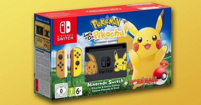 Erscheint am 16. November 2018 in zwei Ausführungen: das limitierte Nintendo Switch Pokémon Bundle (Abbildung: Nintendo of Europe)