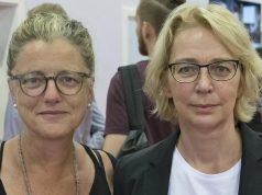 media:net-Geschäftsführerin Andrea Peters und Games-Professorin Linda Breitlauch plädieren für mehr Dialog innerhalb der Branche (Foto: media:net / Uwe Völkner)
