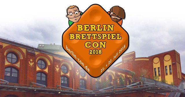 Nach einer erfolgreichen Messe im Jahr 2018 zieht die Berlin Brettspiel Con 2019 in die STATION Berlin (Foto: GamesWirtschaft / Logo: Berlin Brettspiel Con Event GmbH)