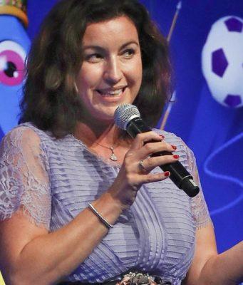 Staatsministerin Dorothee Bär - hier bei der Eröffnung der Gamescom 2018 - geht auf Distanz zur eSport-Position des DOSB (Foto: Game e. V. / Franziska Krug)