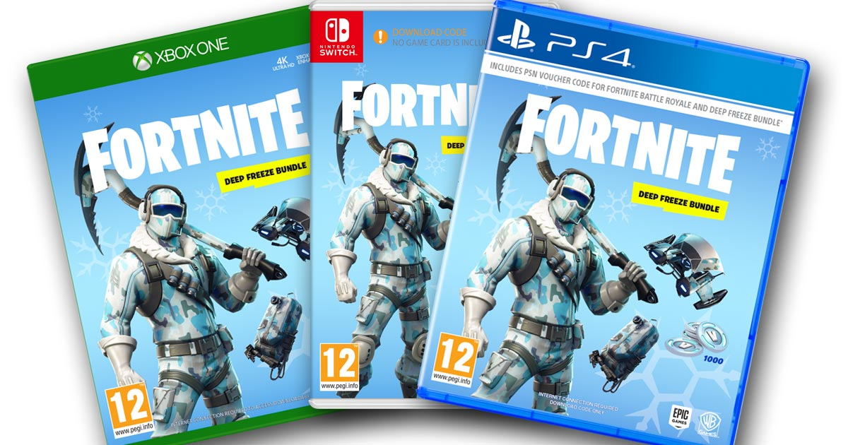 Fortnite Deep Freeze Bundle Ab 15 November Erhaltlich