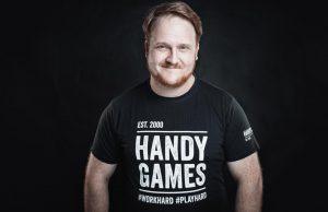 PR-Manager Florian Emmerich wechselt zu HandyGames nach Giebelstadt (Foto: THQ Nordic)