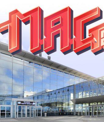 Die MAG Erfurt 2018 findet erstmals vom 5. bis 7. Oktober 2018 in Erfurt statt (Foto: Messe Erfurt / Logo: Super Crowd Entertainment)