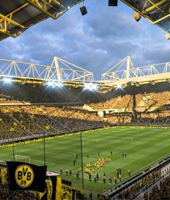 Virtual Bundesliga 2019: Bundesligisten wie Borussia Dortmund dürfen mit eigenen FIFA 19-Kadern um den Titel des VBL Club Champion kämpfen (Abbildung: EA)