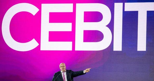 Bundeswirtschaftsminister Peter Altmaier eröffnete die CeBIT 2018 - jetzt wird die Messe komplett eingestellt (Foto: Deutsche Messe AG)