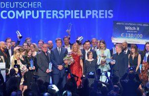 Analog zum Deutschen Computerspielpreis 2018 in München stammt das Preisgeld beim DCP 2019 erneut zu 50 Prozent von der Branche selbst (Foto: Getty Images / Hannes Magerstaedt for Quinke Networks)