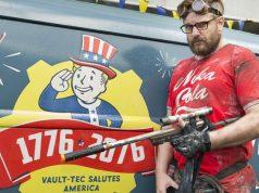 """Letsplayer Gronkh wirbt für """"Fallout 76"""": Nach dem Einsatz auf der Gamescom 2018 organisiert Bethesda ein Live-Letsplay mit Fanta-4-Rapper Smudo (Foto: KoelnMesse / Harald Fleissner)"""