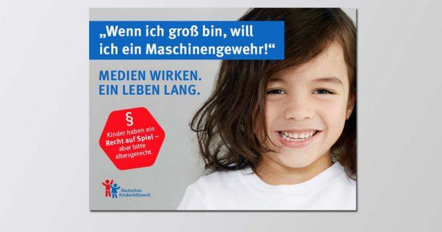 Die Social-Media-Kampagne des Deutschen Kinderhilfswerks soll Eltern zur altersgerechten Auswahl von Computerspielen motivieren (Abbildung: DKHW / PeopleImages / Getty Images)