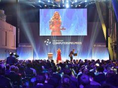 Gelingt Barbara Schöneberger der DCP-Hattrick? Die Moderatorin führte bereits beim Computerspielpreis 2017 und 2018 durch den Abend (Foto: Getty Images / Hannes Magerstaedt für Quinke Networks)