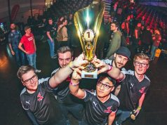 "Das ""League of Legends""-Quintett von Magdeburg eSports e. V. holt den ESBD Vereinspokal 2019 (Foto: Maria Manneck / Silver Seed Games)"