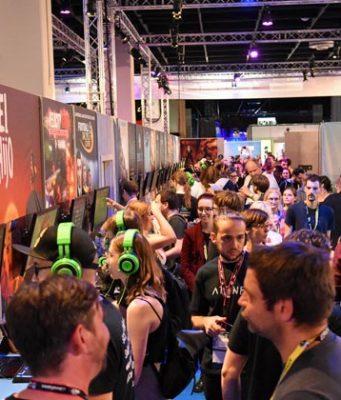 Der Indie Arena Booth gilt als Publikumsmagnet auf Messen wie der Gamescom - im Febrar auch erstmals auf der DreamHack 2019 (Foto: Super Crowd Entertainment)