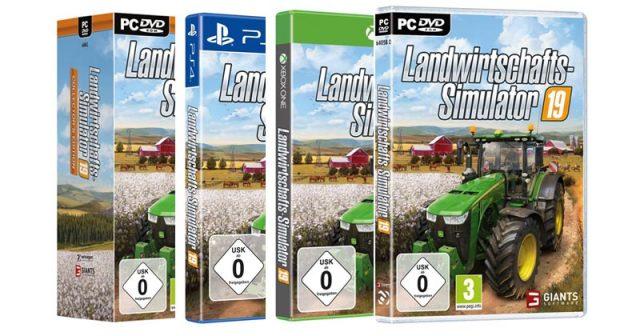 Landwirtschafts-Simulator 19 Verkaufszahlen: GIANTS Software schafft 1 Million Stück in zehn Tagen (Abbildungen: Astragon Entertainment)
