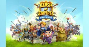 """Auf der Gamescom 2018 stellte Playa Games die Neuheit """"Clash of Empires"""" auf Basis der Comic-Serie """"Shakes & Fidget"""" vor (Abbildung: Playa Games)"""