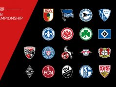 Virtual Bundesliga 2018/19: Das sind die Teilnehmer an der neu geschaffenen VBL Club Championship 2018/19 (Abbildung: DFL)