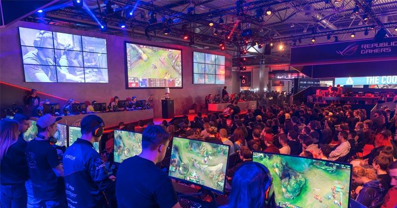 eSport-Turniere und eine XXL-LAN-Party sind der Kern der DreamHack Leipzig 2019 (Foto: DreamHack / Tom Schulze)