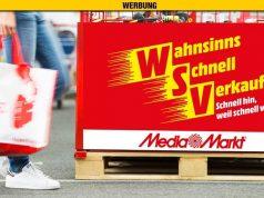 """MediaMarkt WSV 2019: Restposten und Auslaufmodelle sind im """"Wahnsinns-Schnell-Verkauf"""" drastisch reduziert (Abbildung: MediaSaturn PR)"""