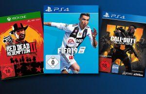 """""""FIFA 19"""" ist das europaweit meistverlaufte Computer- und Videospiel - vor """"Red Dead Redemption 2"""" und """"Call of Duty: Black Ops 4"""""""