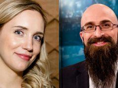 Theres Modl und Marius Lauer sind zwei der sechs neuen Moderatoren bei eSports1 (Foto: eSports1 / Nadine Rupp)