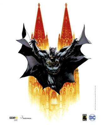 DC-Comics-Zeichner Ivan Reis hat das offizielle Poster der CCXP Cologne 2019 gestaltet (Abbildung: KoelnMesse)