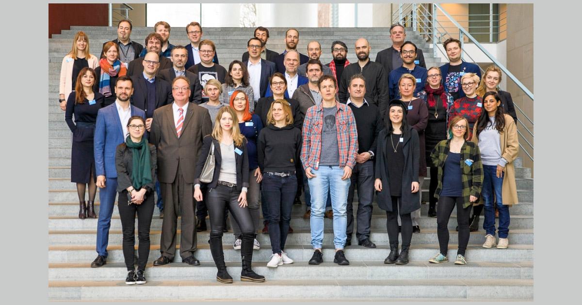 Die Hauptjury des Deutschen Computerspielpreis 2019 tagte am 1. März im Kanzleramt (Foto: Presse- und Informationsamt der Bundesregierung / Koall)