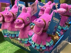 Die Fortnite-Plüsch-Lamas sind bereits seit Dezember 2018 auf dem Markt (Foto: GamesWirtschaft)
