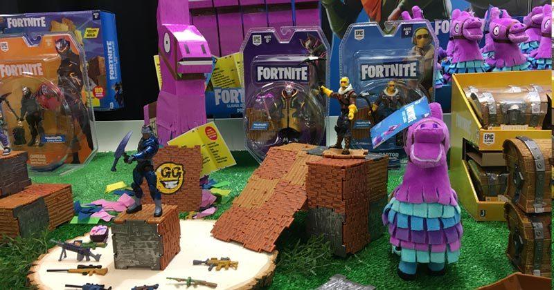 Mit Fortnite-Spielfiguren-Sets ist Jazwares bereits auf dem Markt (Foto: GamesWirtschaft)