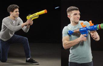 Spielwaren-Riese Hasbro kündigt Fortnite-Nerf-Blaster und Fortnite-Super-Soaker an (Fotos: Hasbro Inc.)