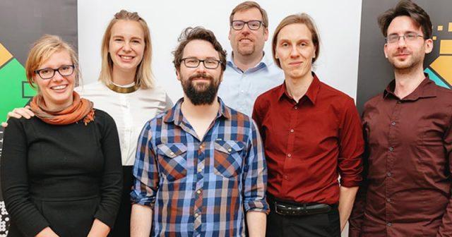 Der sechsköpfige Vorstand vertritt die Mitglieder von Games & XR Mitteldeutschland (Foto: Maria Manneck)