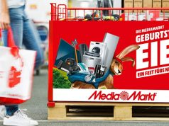 Geburtstags-Eier: Noch bis 23. April 2019 gelten die Aktionspreise aus dem neuen MediaMarkt-Prospekt (Abbildung: MediaMarkt)