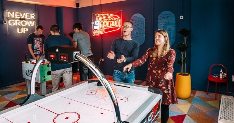 Mit vielen Annehmlichkeiten wirbt Nordeus um internationale Spiele-Entwickler (Foto: Nordeus)