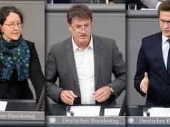 """Nach der Anhörung im Sportausschuss: Grünen-Politikerin Monika Lazar fordert die Anerkennung der Gemeinnützigkeit für das gesamte eSport-Segment - Detlev Pilger (SPD) und Johannes Steiniger (CDU) wollen """"Gewaltspiele"""" hingegen ausschließen (alle Fotos: Deutscher Bundestag / Achim Melde)"""