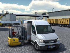 """Der """"Truck & Logistics Simulator"""" ist das erste Switch-Spiel aus dem Hause Aerosoft."""