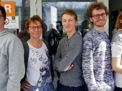 Sachverstand im GamesAhead-Vorstand: Sebastian Krause, Linda Breitlauch, Adrian Wegener, Gordon Vogel und Vanessa Barth (von links, Foto: GamesAhead e. V.)