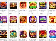Milliarden-Markt Online-Casinos: Alleine im Google Play Store sind Hunderte Apps gelistet (Abbildung: Screenshot)