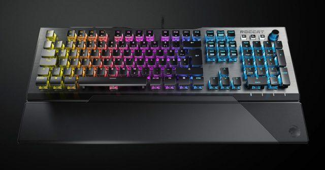 Die Gaming-Tastatur Vulcan ist das Flaggschiff im Sortiment des Hamburger Peripherie-Spezialisten Roccat (Abbildung: Roccat GmbH)