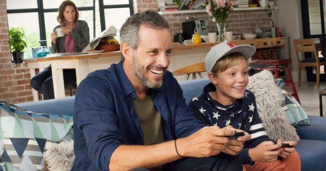 Deutsche 'Gamer' sind zunehmend serienmäßig mit grauen Schläfen ausgestattet: Fast ein Drittel ist älter als 50 Jahre (Foto: Nintendo of Europe)