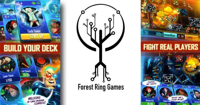 Das Debüt des Würzburger Studios Forest Ring Games: das Mobile-Strategiespiel