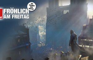 """Für das 2014 erschienene Action-Abenteuer """"Assassin's Creed Unity"""" wurde Notre-Dame detailliert nachgebaut - bis 25. April ist das PC-Spiel gratis (Abbildung: Ubisoft)"""