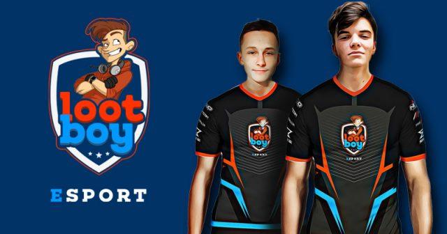 Die eSport-Profis Mexe und Skram treten für Lootboy bei der Fortnite-WM in New York an (Abbildungen: Lootboy GmbH)