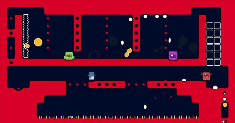 """""""Spitlings"""" ist ein turbulentes Geschicklichkeitsspiel für bis zu vier Spieler (Abbildung: Massive Miniteam)"""